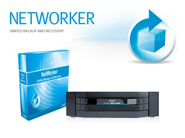 Приложение EMC NETWORKER UNIFIED BACKUP AND RECOVERY SOFTWARE