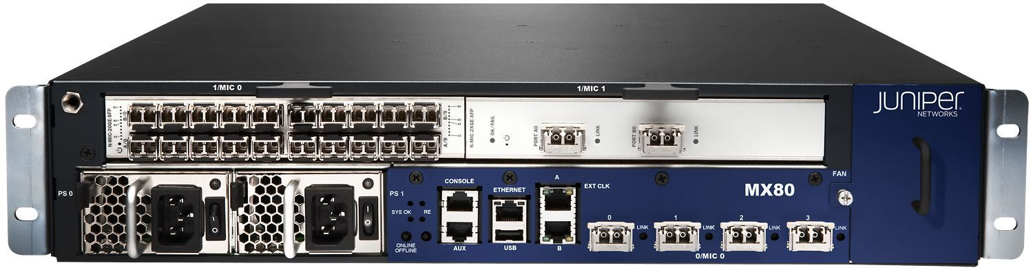 Маршрутизатор Juniper MX80-AC фото
