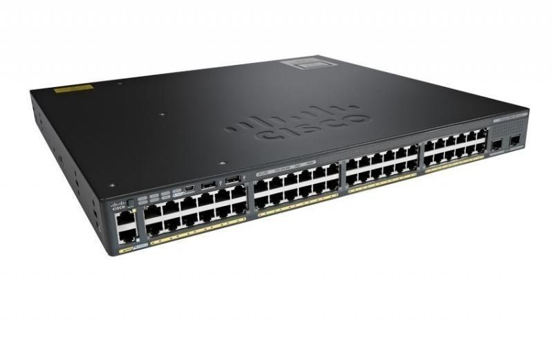 Коммутатор Cisco WS-C2960X-48LPD-L