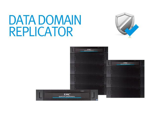 Приложение EMC DATA DOMAIN REPLICATOR SOFTWARE